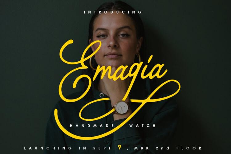 Bragitha Font Free 3 - UI Freebies