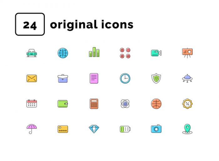 Essential Shift Icons 2 - UI Freebies