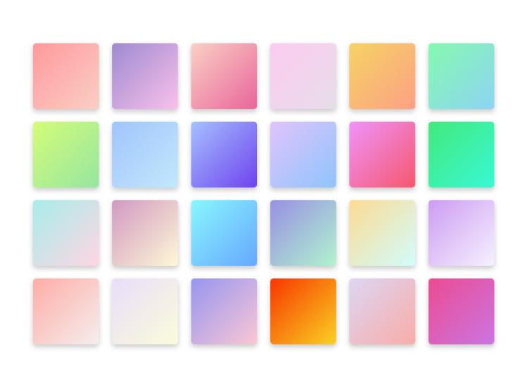Gradients Color Template