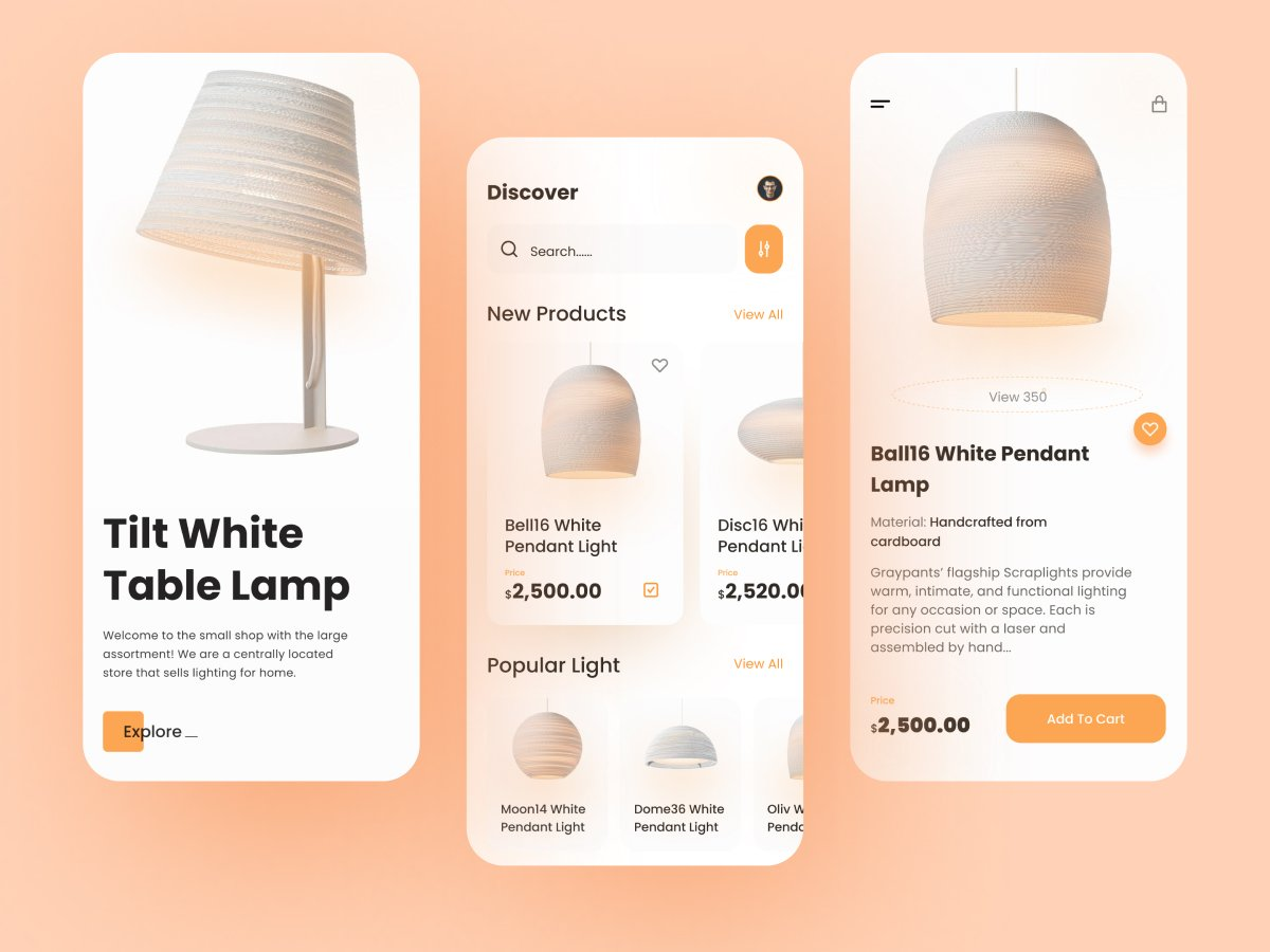 Lighting Ecommerce App Free