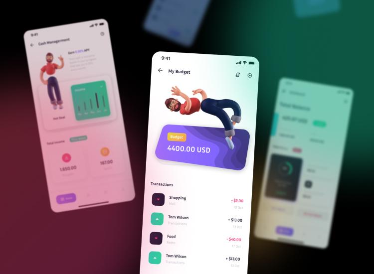 Mobile Banking UI Design-2
