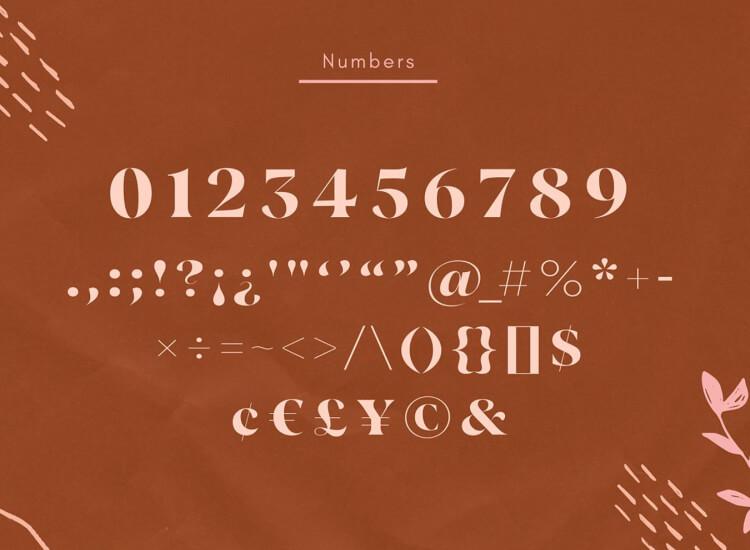 Vickey Vintage Typeface 5 - UI Freebies