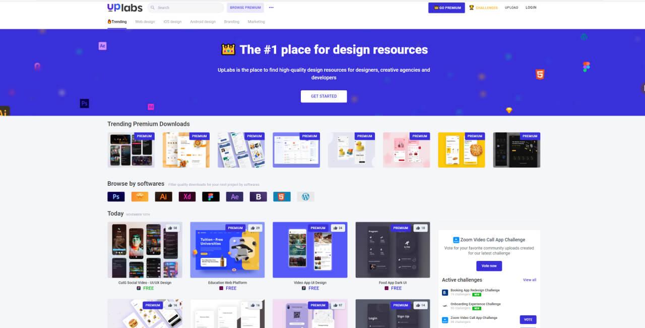 Top 10 Websites To Find Design Inspiration - UI Freebies