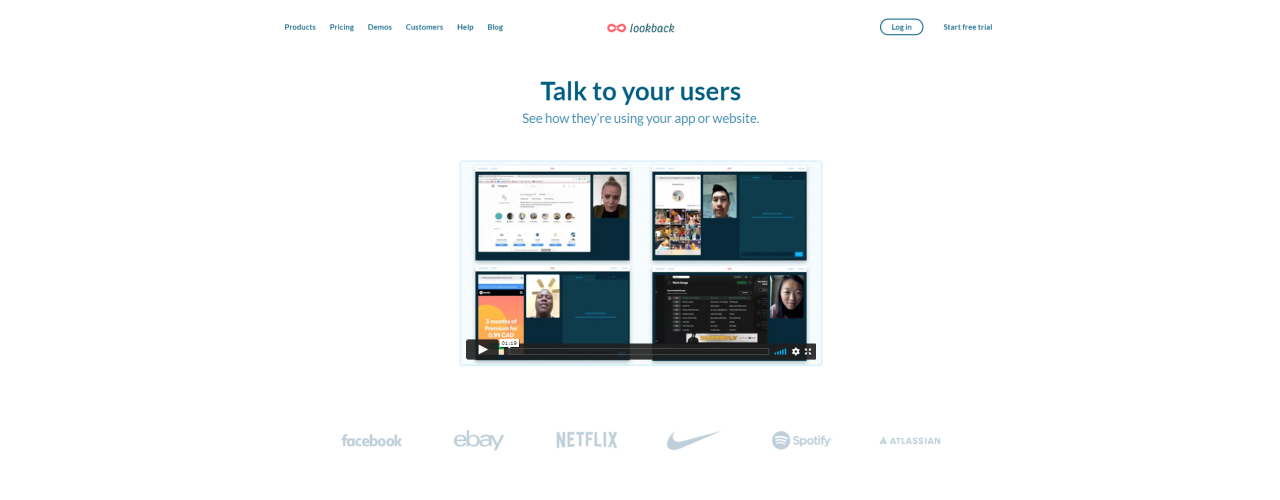 usability testing tools lookback - UI Freebies