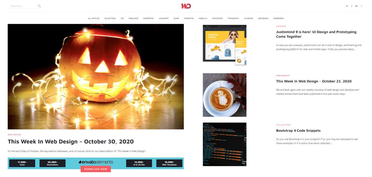 ux blog 1stwebdesigner - UI Freebies