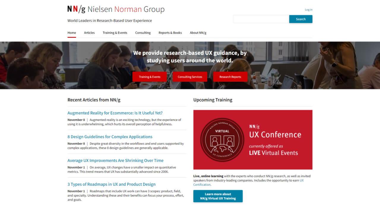 ux blog nngroup - UI Freebies