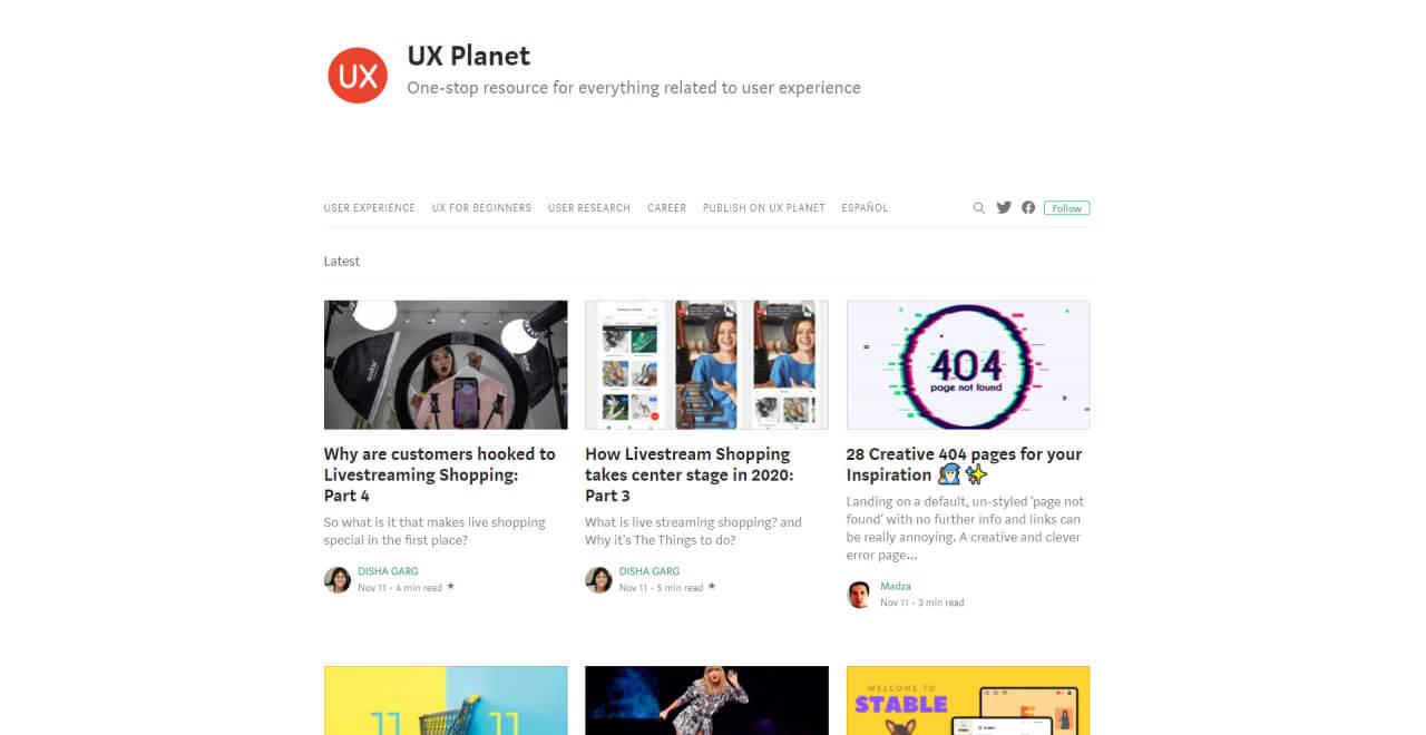 ux blog - UI Freebies