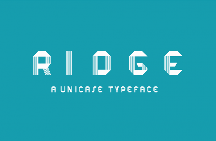 3d font ridge - UI Freebies