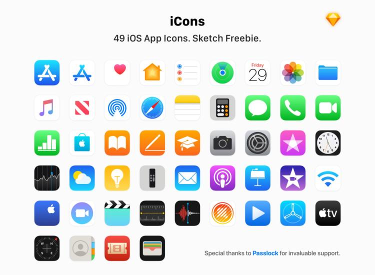 Apple IOS App Icon