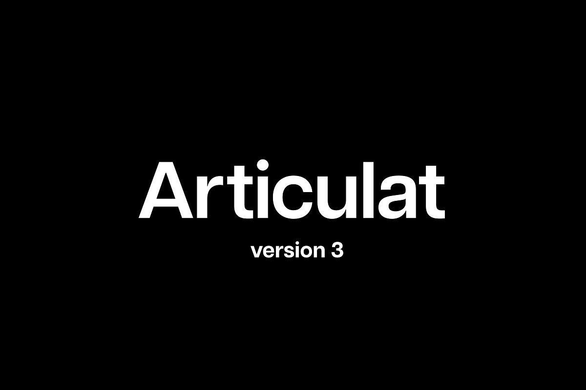 Articulat - UI Freebies
