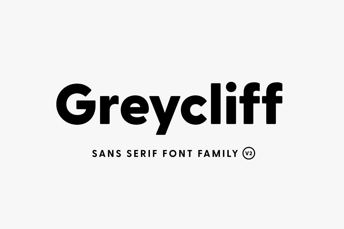 Greycliff Sans Serif Fonts - UI Freebies