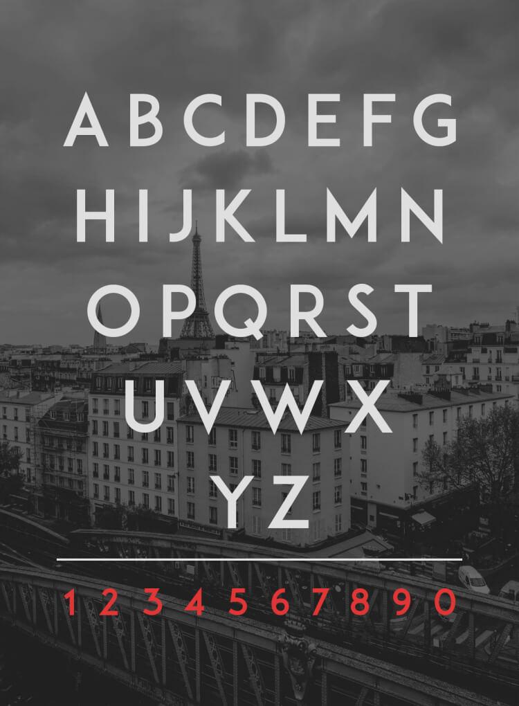 ADAM.CG PRO Free Font - UI Freebies