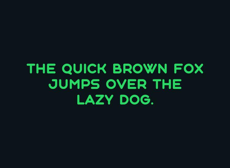 aqum rounded font 1 - UI Freebies