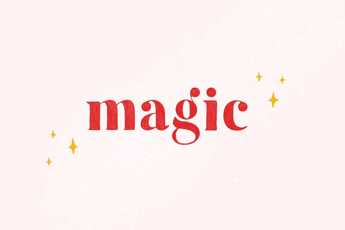 color fonts magic - UI Freebies