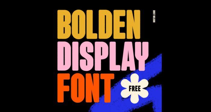 Best Free Display Fonts in 2021 - UI Freebies