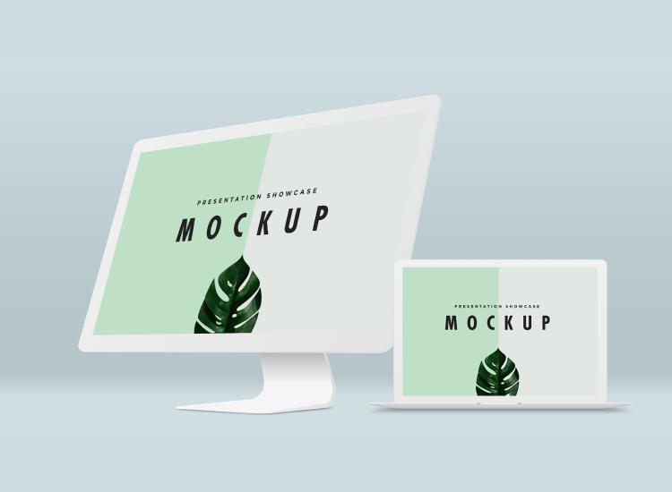 iMac Mockup Free