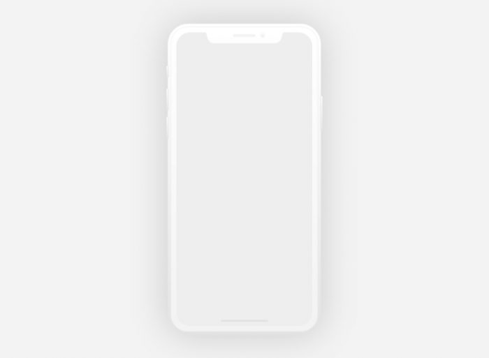 iphone x mockups xd 2 - UI Freebies