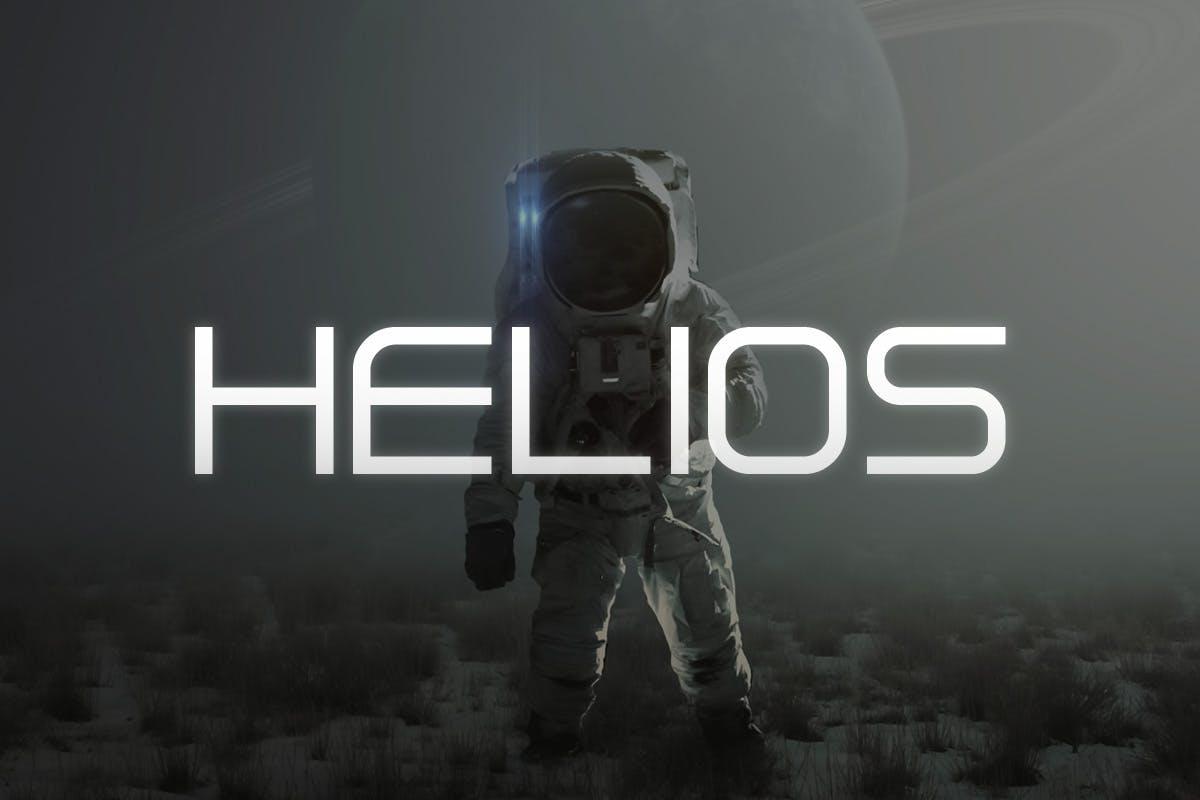 sans serif fonts helios - UI Freebies