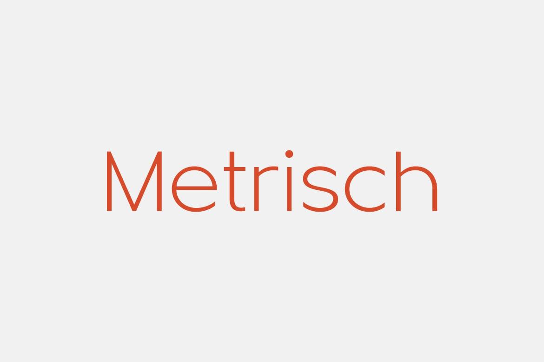 sans serif fonts metrisch - UI Freebies
