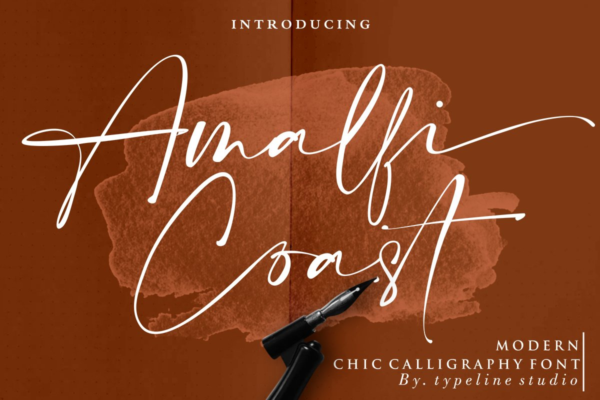 script fonts amalfi coast - UI Freebies