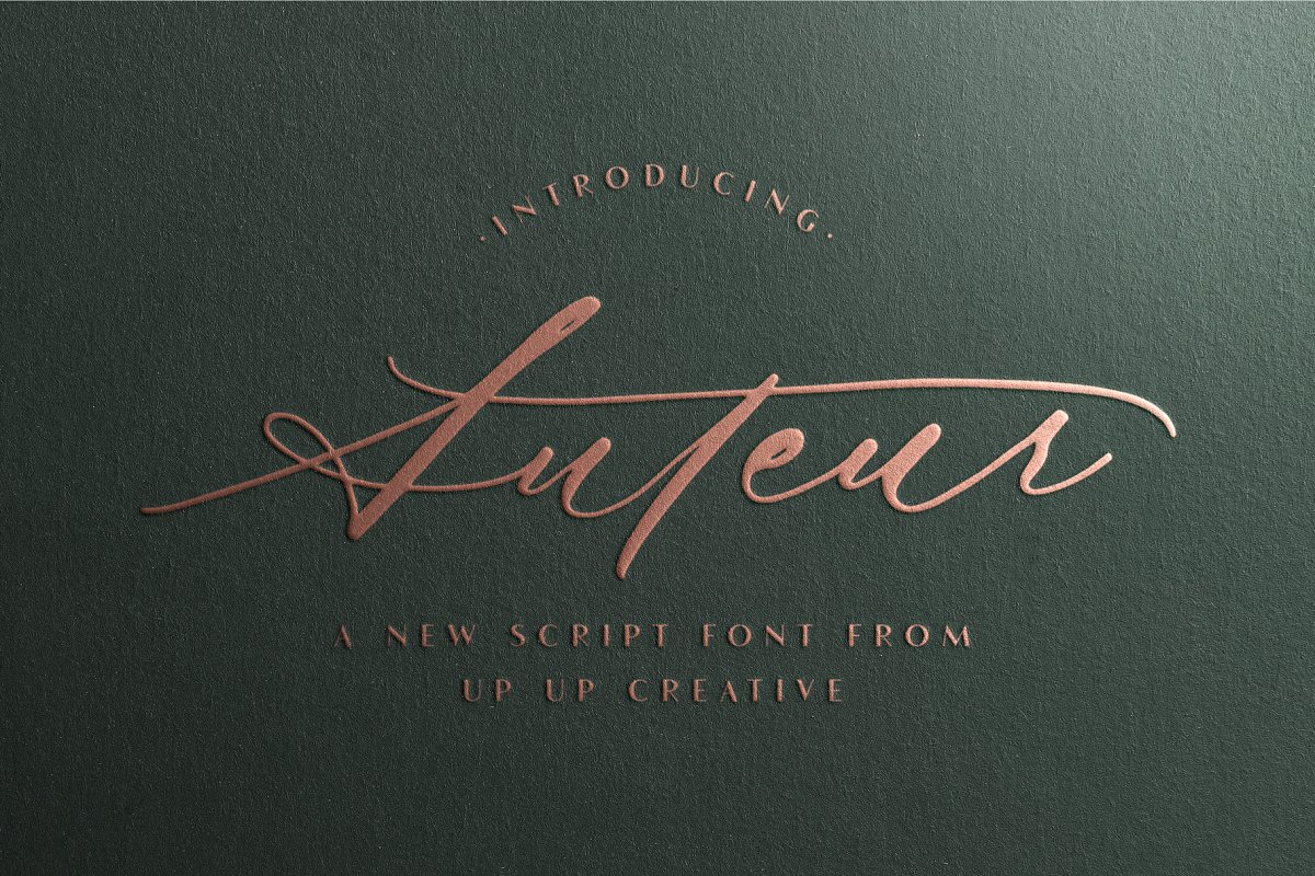 script fonts autuer - UI Freebies