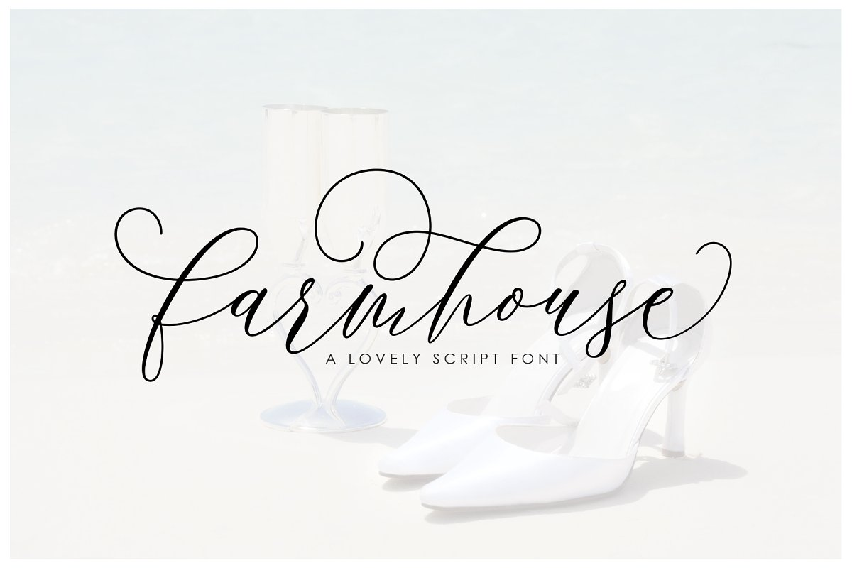 script fonts farmhouse - UI Freebies