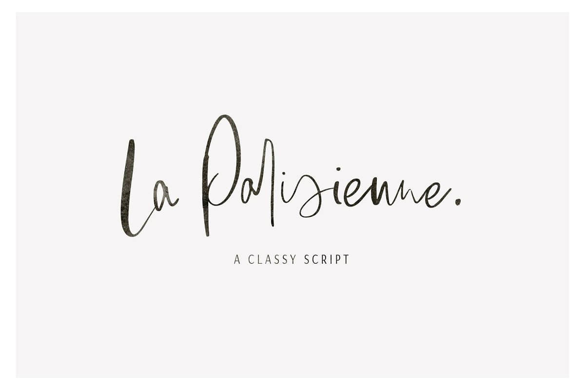script fonts la parisienne - UI Freebies