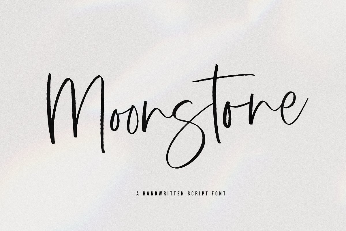 script fonts moonstone - UI Freebies
