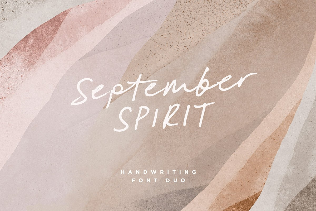 script fonts september - UI Freebies