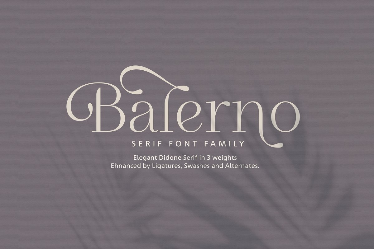 serif fonts balerno - UI Freebies