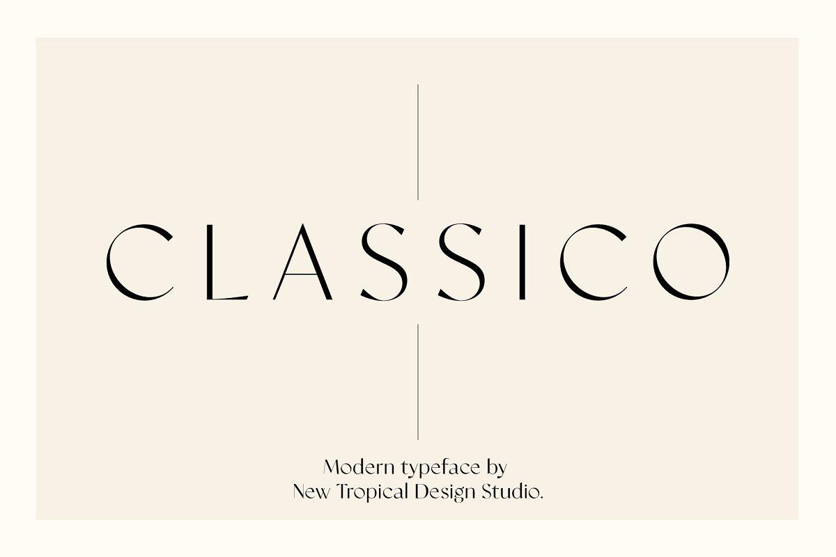 serif fonts classio - UI Freebies