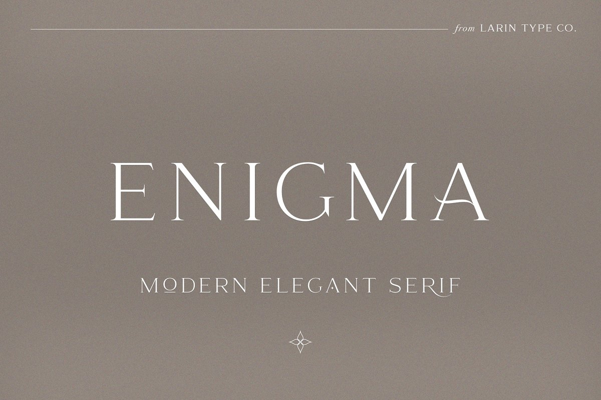 serif fonts enigma - UI Freebies