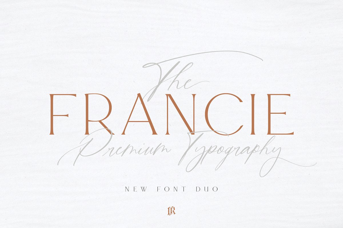 serif fonts francie - UI Freebies