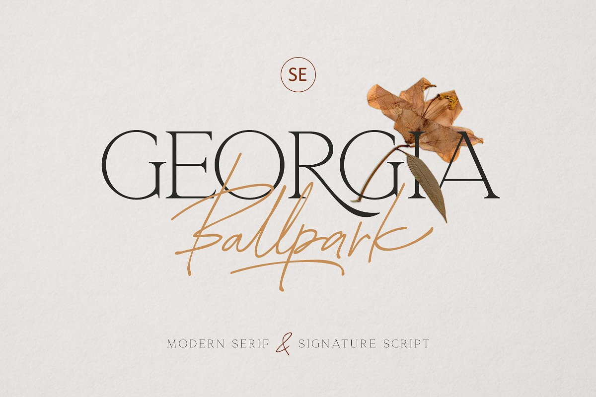 serif fonts georgia - UI Freebies