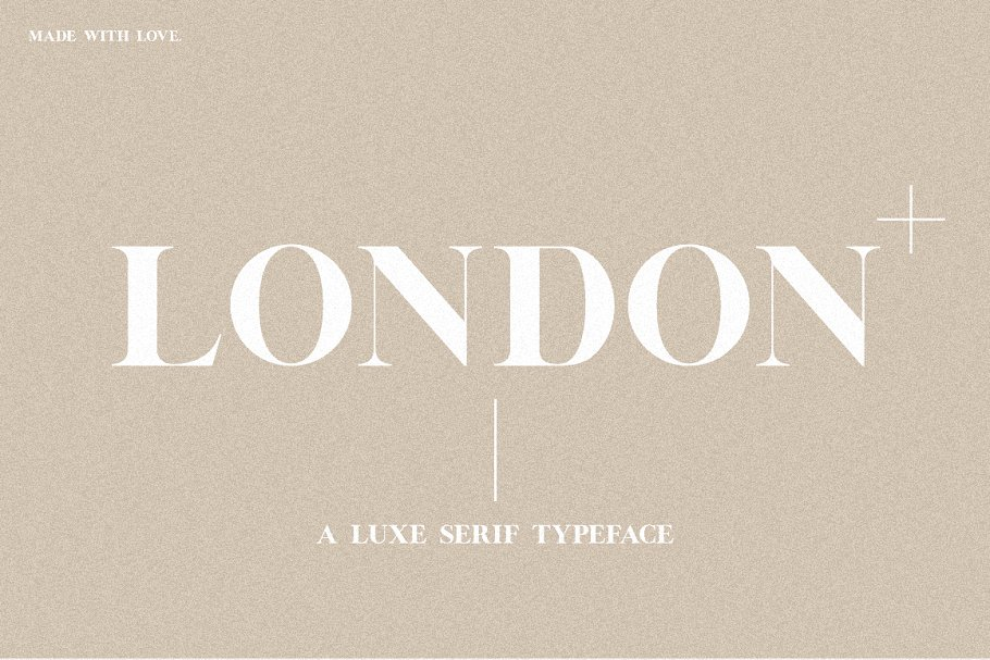 serif fonts london - UI Freebies