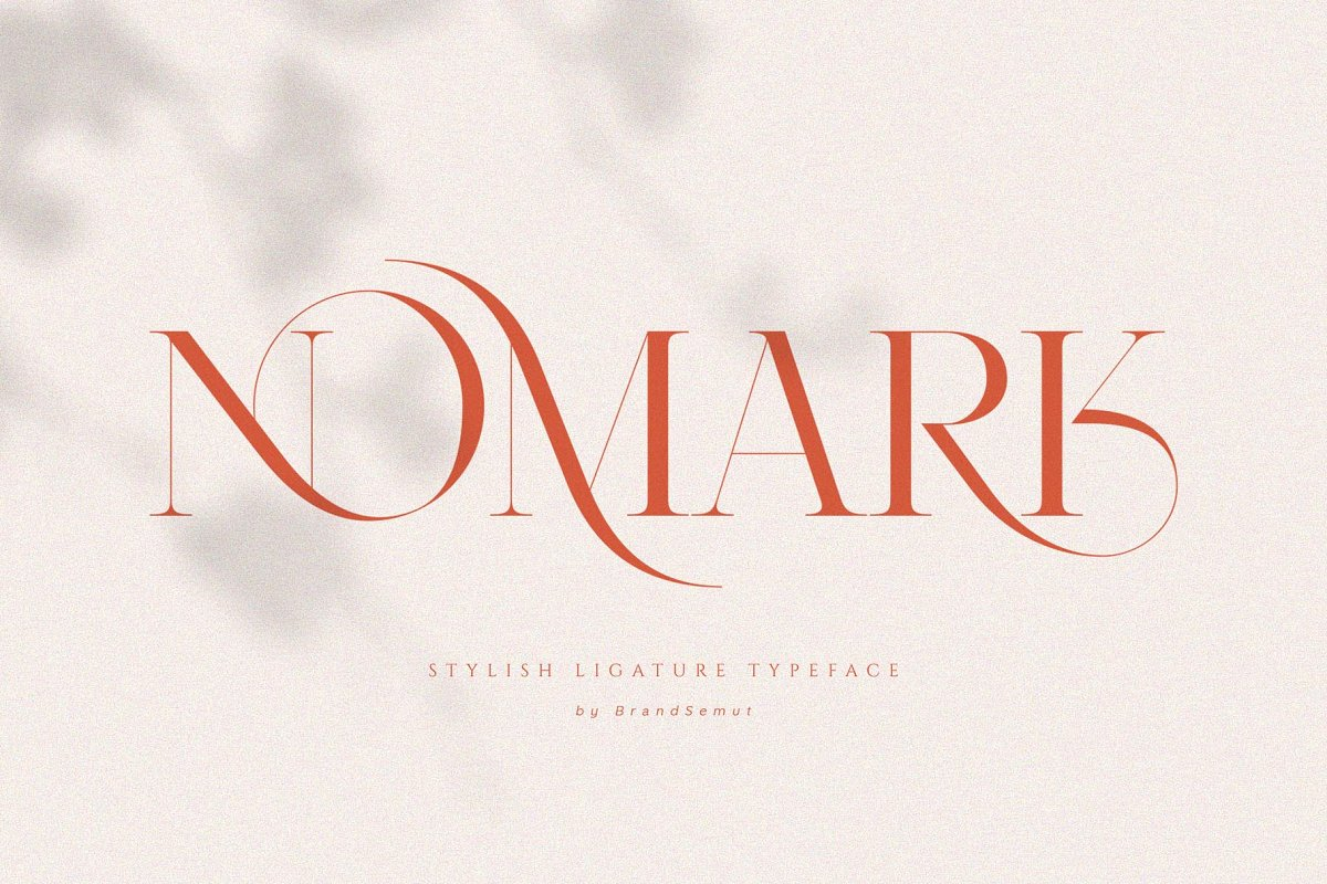serif fonts nomark - UI Freebies