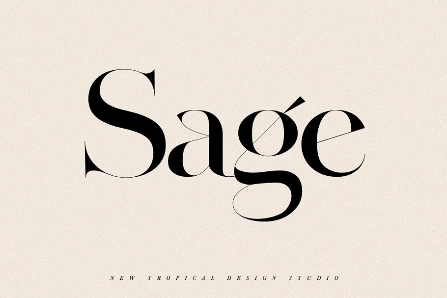 serif fonts sage - UI Freebies
