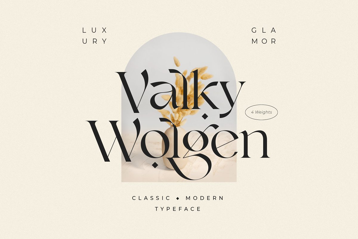serif fonts valky - UI Freebies