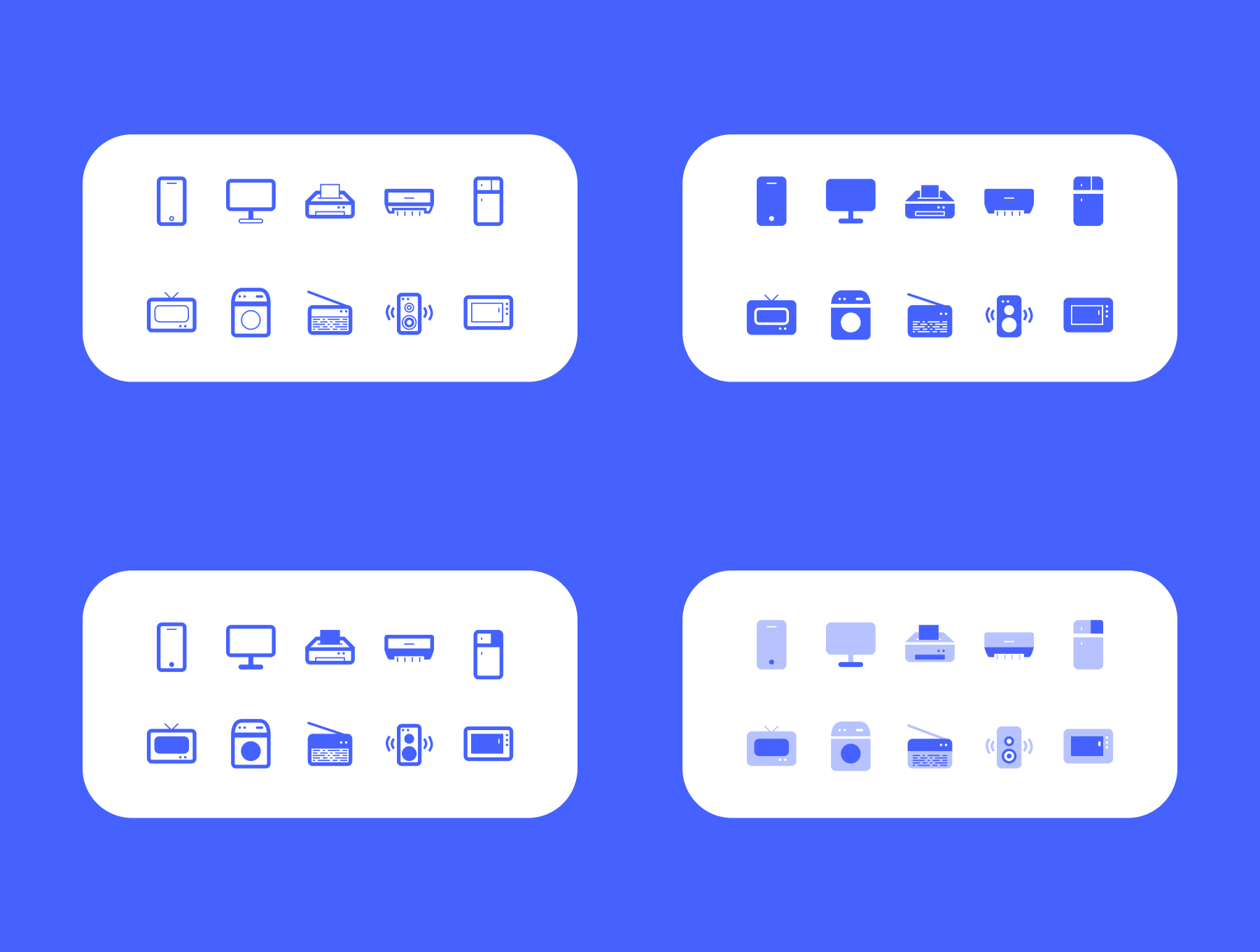 40 Vector Electronic Icons Free 2 - UI Freebies