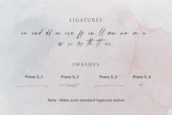 modernline handwritten font 4 - UI Freebies