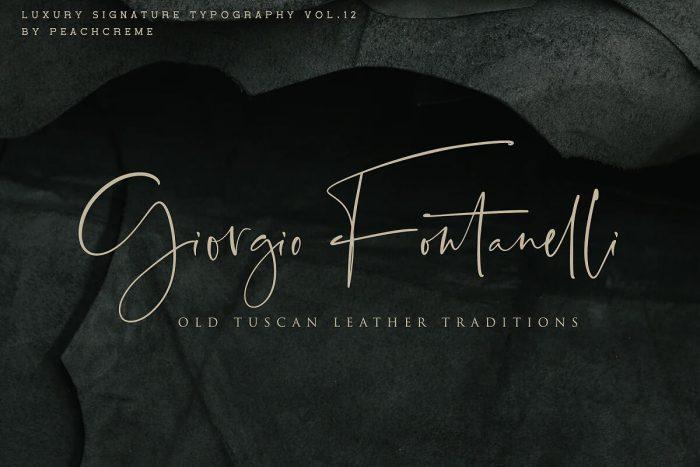 Santorini Signature Font Download - UI Freebies