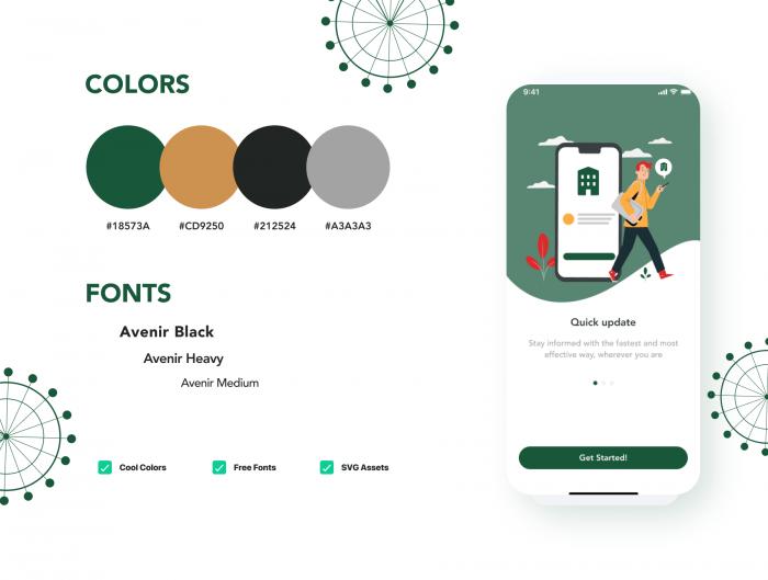 apart smart home app ui kit 2 - UI Freebies