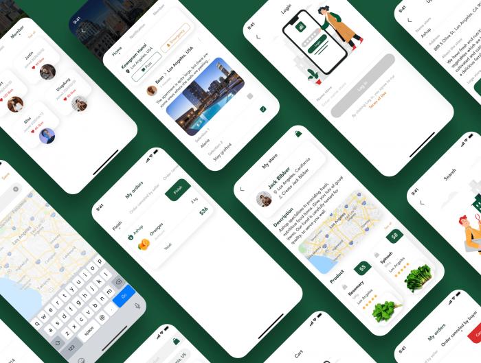apart smart home app ui kit 5 - UI Freebies