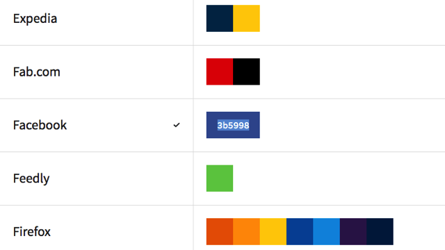 BrandColors - Top Inspiration Library - UI Freebies