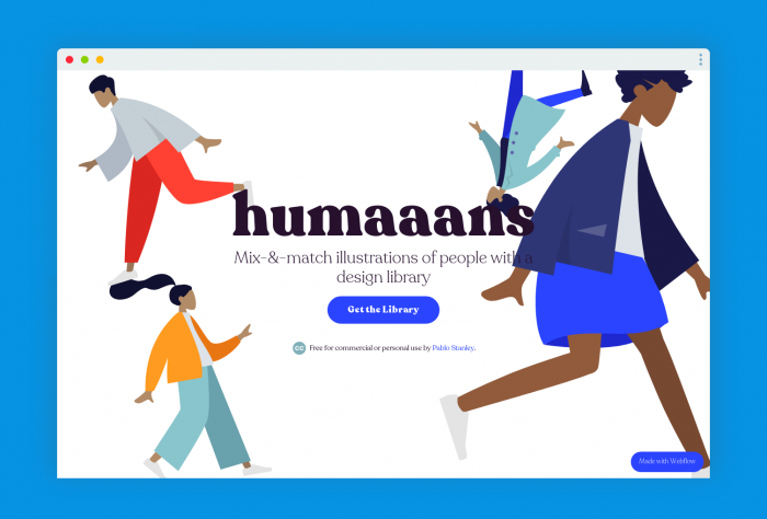free illustration hum - UI Freebies