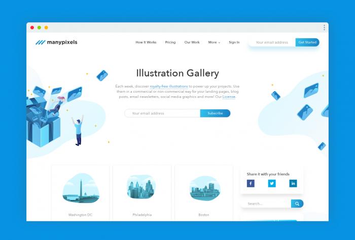 free illustration many - UI Freebies
