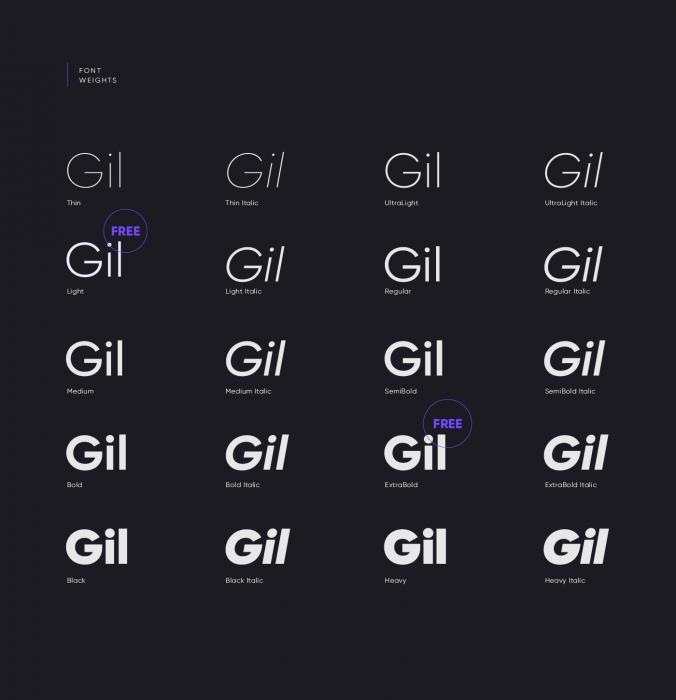 Gilroy FontDownload - UI Freebies