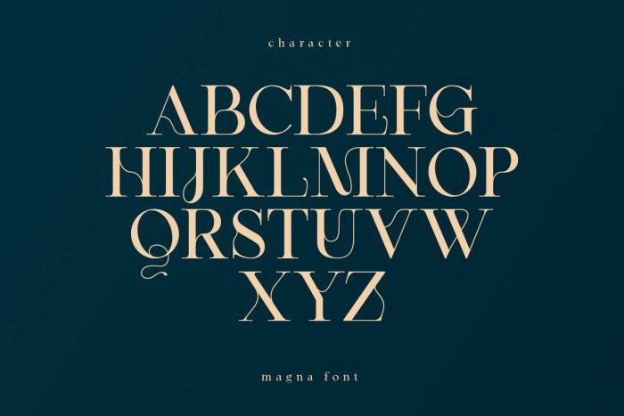 magna font free download 4 - UI Freebies