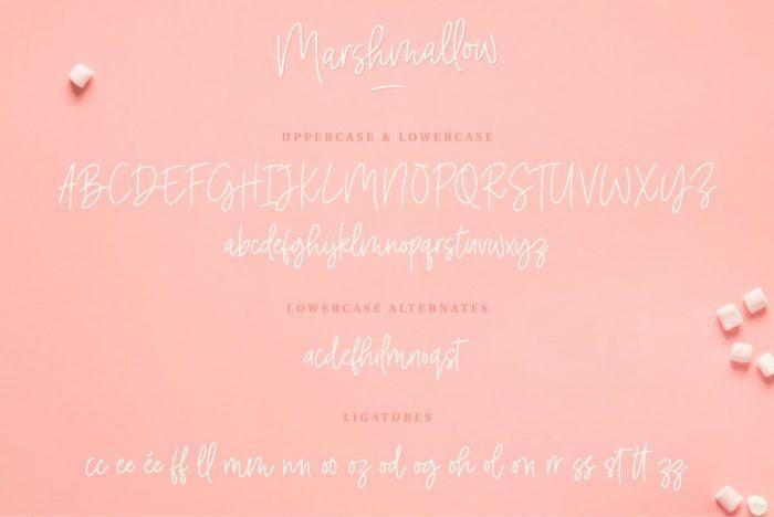 Marshmallow Font Download - UI Freebies