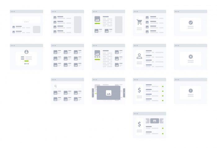 Adobe XD Flowchart Kit Free - UI Freebies